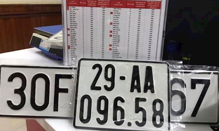 Xem ý nghĩa biển số xe các tỉnh thành Việt Nam